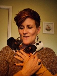 Ruthy Doolittle, animal communication with two rats
