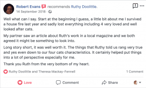 Animal Bereavement True Story, Ruthy Doolittle, Animal Communicator, Colchester, Essex