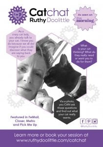 catchat, animal communication for cats with Ruthy Doolittle