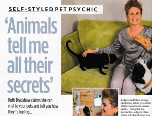 Ruthy Doolittle Animal Communicator, Ant McPartlin, Closer Magazine