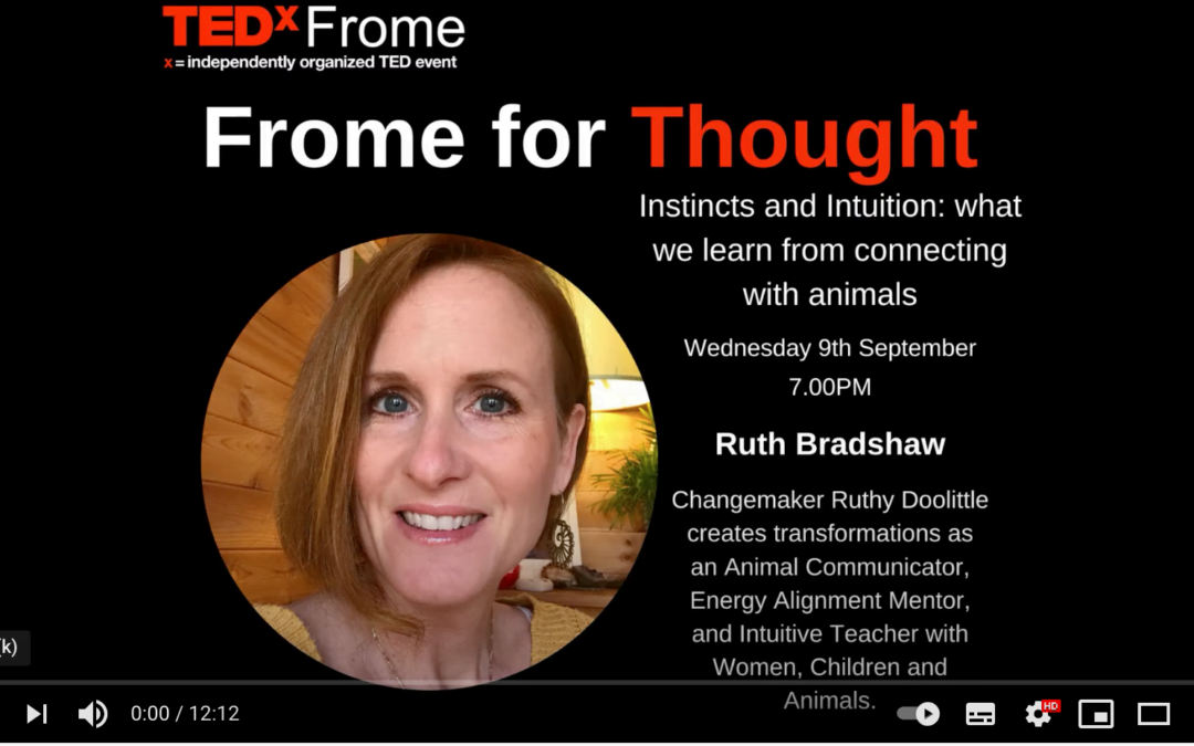 Ruthy Doolittle on TEDx Frome