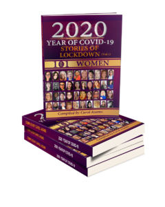Copy of the book cover 2020 stories of lockdown